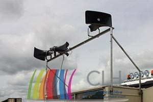outdoor-speaker-system-hire-100v-line-public-address-hire